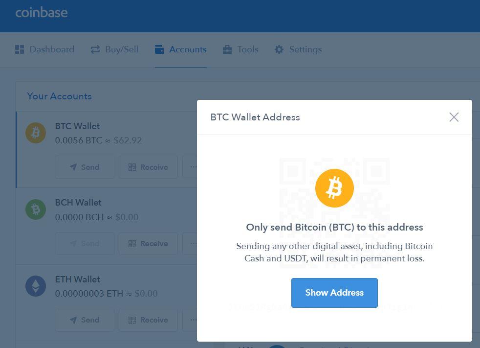 1 btc to usd coinbase